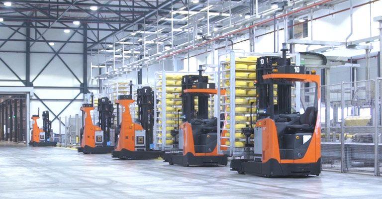 Carrelli INOX adatti a settori industriali dove l'igiene e la pulizia