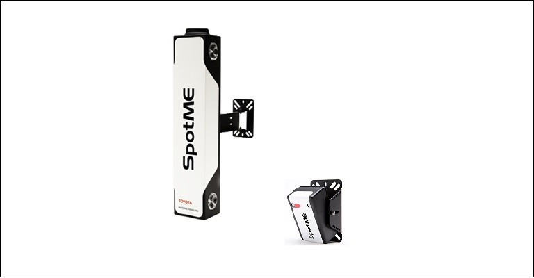 SpotMe - avvisa gli operatori sul carrello e quelli a piedi di potenziali pericoli di incidenti